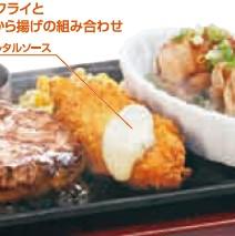 ハンバーグ&白身魚フライとガーリックチキン.jpg