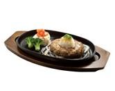 炭焼き手ごね押麦入りハンバーグのおろしポン酢定食.jpg