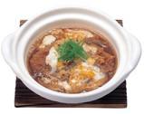 熟成豚ロースかつの玉子とじ鍋定食.jpg