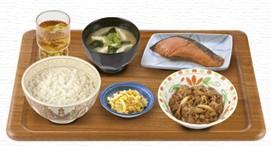 牛皿・鮭朝食.jpg